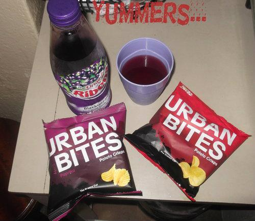 Urban Bites and Ribena