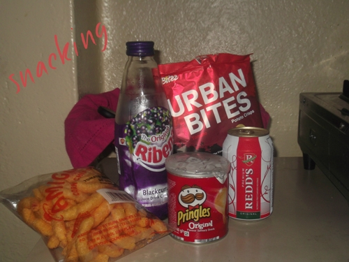 snacks, urban bites, ribena, corn, chips, redds