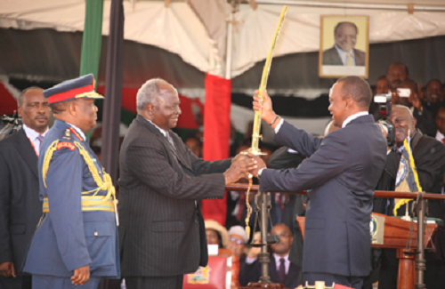 Kibaki Hands Over