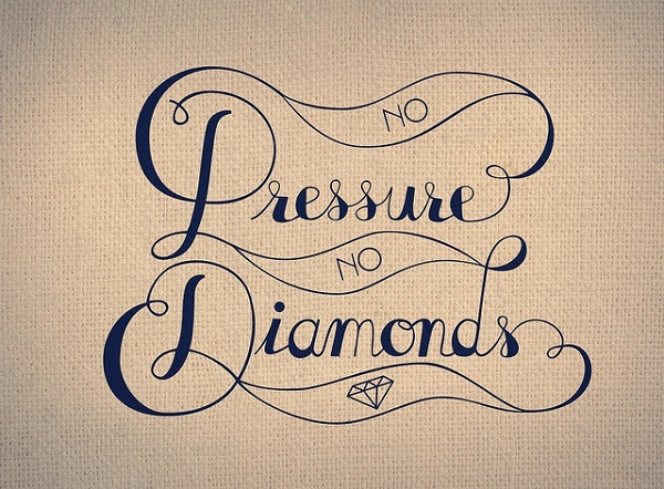 Pressure, Diamonds