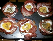Tasty Delights, Bacon Egg Muffin