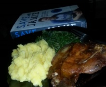 Foodie, Recipe, Jamie Oliver, Pork, Mashed Potatoes, Spinach