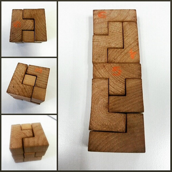 Relationships, Wooden Piece Cube