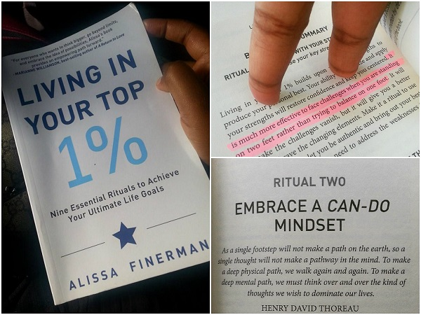 Alissa Finerman, Book Review, Living Your Top 1%