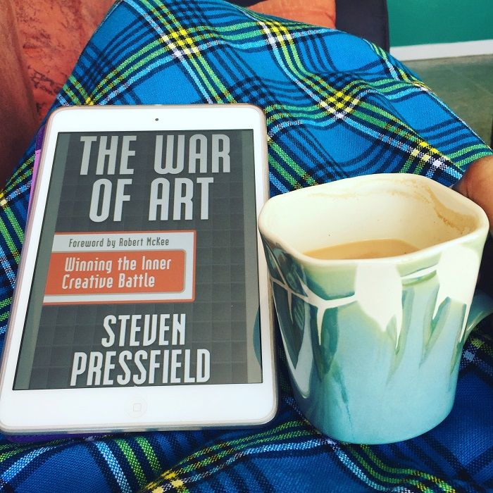 The War of Art, Steven Pressfield, KawiSnippets